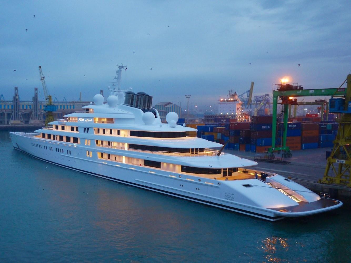 ним самые большие яхты в мире фото хорошего