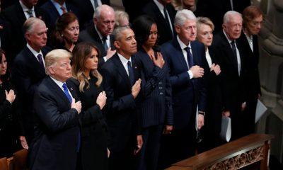 похороны буша