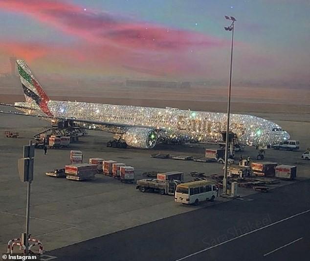 бриллиантовый Boeing