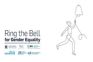 Запрошення на Ring the bell for Gender Equality